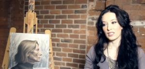 Still from video Jessica Libor Artist Interview 2012