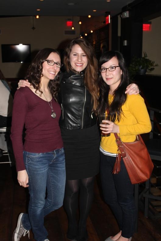 Left to right, Katie, Tiffany, Mary