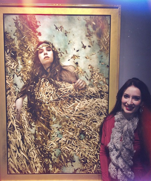 At Brad Kunkle's Show this December